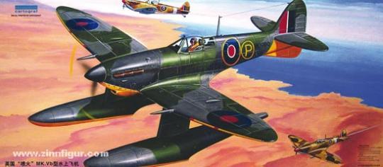 Supermarine Spitfire Mk.Vb mit Schwimmern