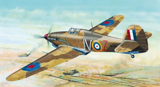 Hawker Hurricane Mk.IID Trop