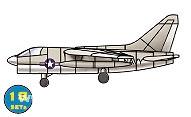 18 x A7E Corsair II