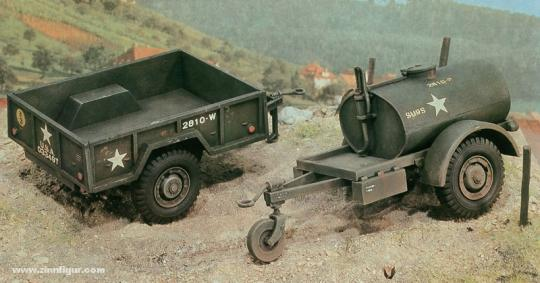 250 Gal.s Tankanhänger und M101 Anhänger