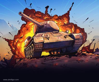 """T-34/85 """"World of Tanks"""" - Schnellbausatz"""