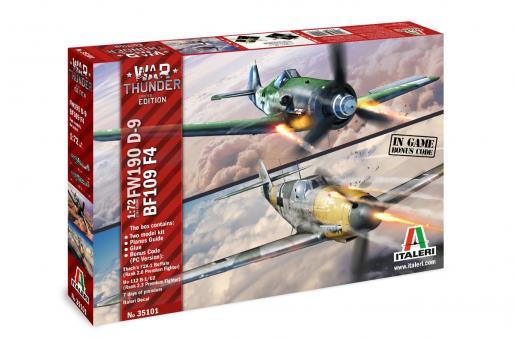 "Bf 109F-4 & Fw 190D-9 ""War Thunder"""