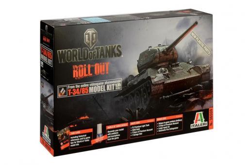 "T-34/85 ""World of Tanks"""