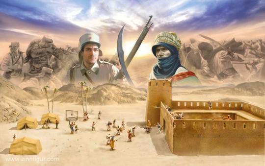 Beau Geste - Algerian Touareg Revolt 1877-1912