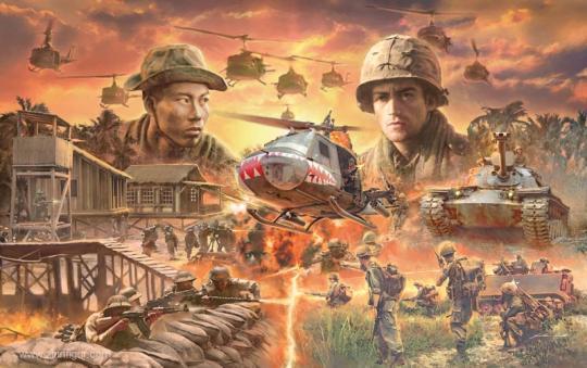 Vietnam War Battle Set