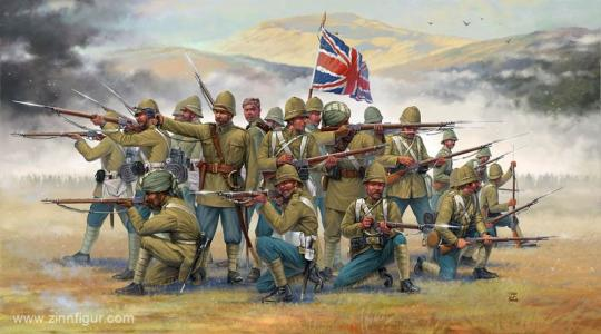 British Infantry / Sepoys - Colonial Wars