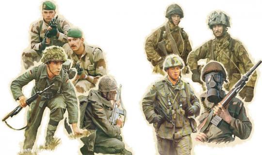 NATO Truppen - 1980er Jahre