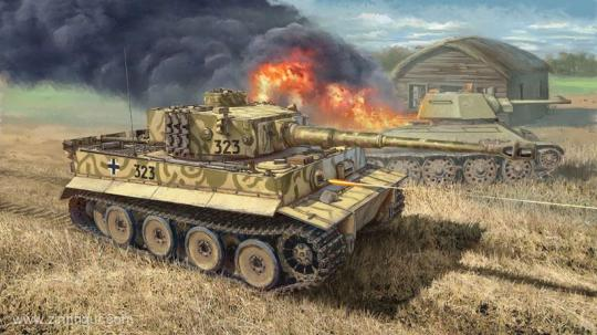 Pz.Kpfw.VI Ausf.E Tiger frühe Produktion