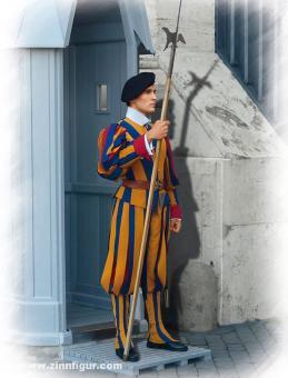 Gardist der Schweizer Garde des Vatikans