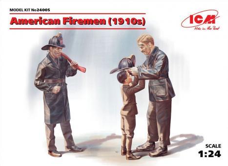 Amerikanische Feuerwehrleute - 1910er Jahre