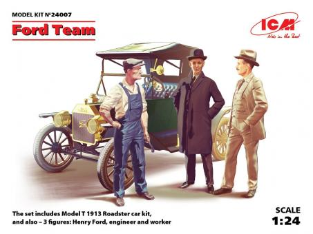 Ford Model T 1913 mit Ford Team
