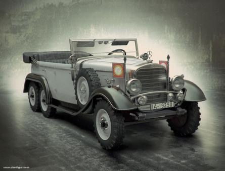 Mercedes G4, 1935 Produktion