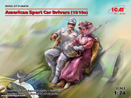 Amerikanische Sportwagenfahrer