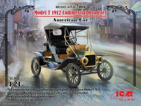 Model T 1912 Commercial Roadster