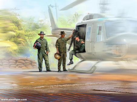US Helikopter Piloten - Vietnam Krieg