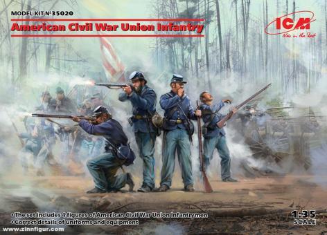 Unions Infanterie - Amerikanischer Bürgerkrieg