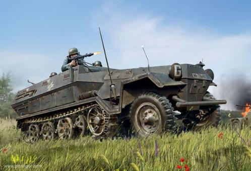 Sd.Kfz. 251/1 Ausf.A Mannschaftstransporter