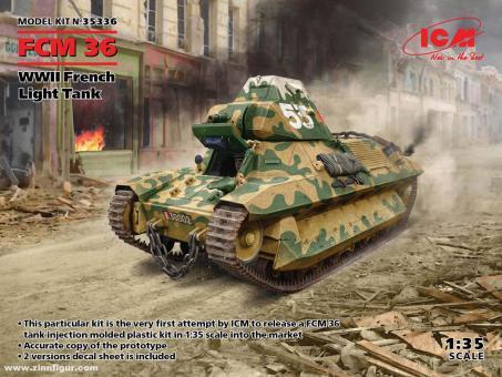 FCM 36 Leichter Panzer