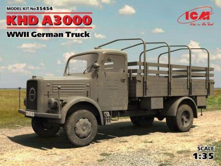 KHD A3000 German Truck