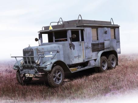 Henschel 33 D1 Kfz. 72 Radio Communication Truck