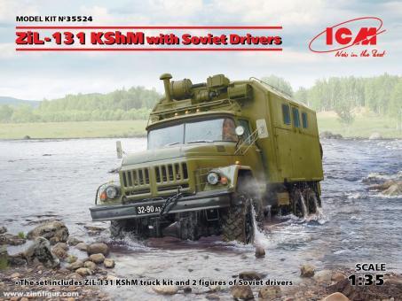 ZiL-131 KShM with Soviet Drivers