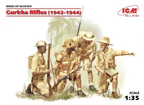 Gurkha Rifles 1944