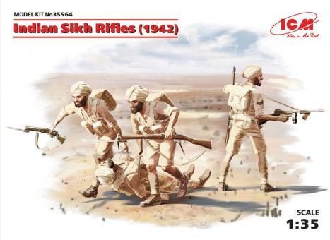 Indische Sikh Rifles 1942