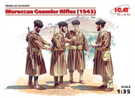 Marokkanische Goumier Rifles 1943