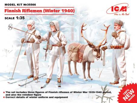 Finnische Schützen - Winter 1940