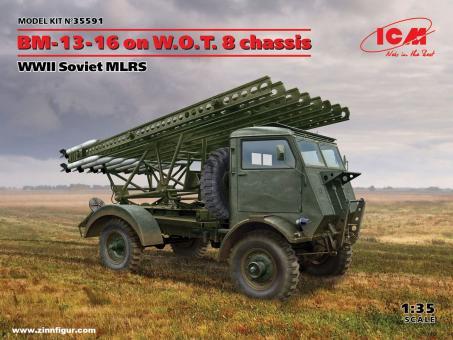 BM-13-16 auf W.O.T.8 Chassis