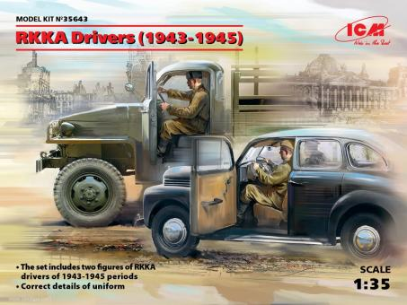 Red Army Drivers RKKA 1943-45