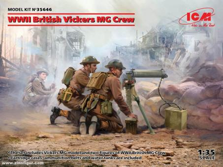Vickers MG Trupp - 2. Weltkrieg