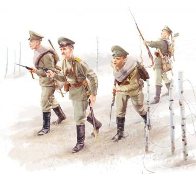 Russische Infanterie WK1