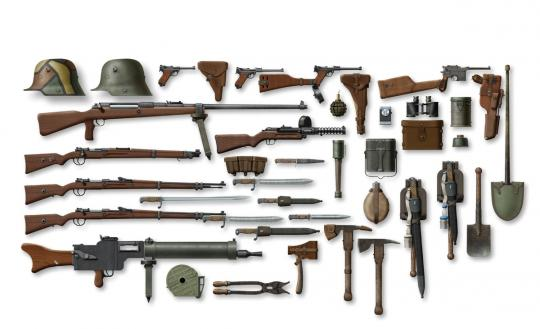 German Infantry Equipment WWI