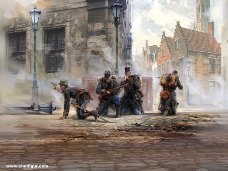 Belgische Infanterie - 1. Weltkrieg
