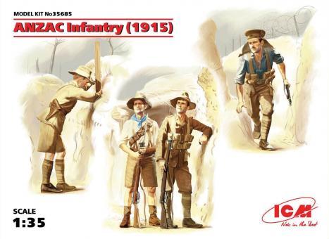 ANZAC Infanterie - 1915
