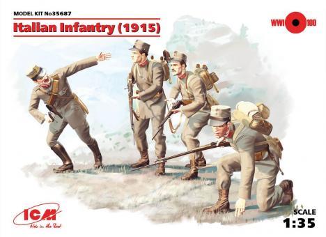 Italienische Infanterie - 1915