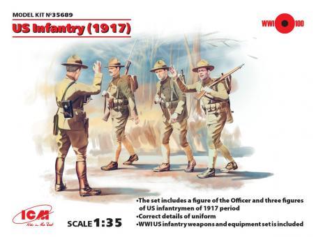 US Infanterie - 1917