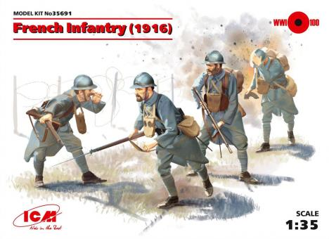 French Infantry - 1916