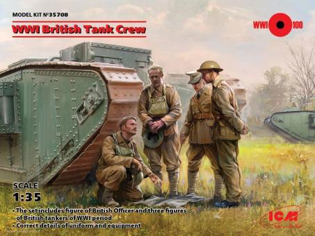 Britische Panzerbesatzung