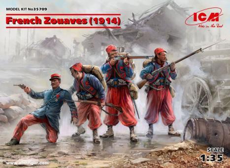Französische Zouaven - 1914