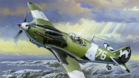 LaGG3 Series 1 Kampfflugzeug