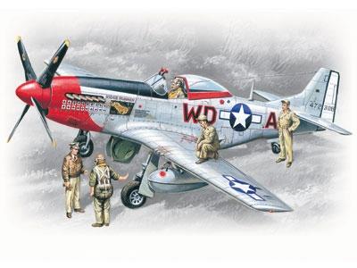 """P-51D Mustang """"Ridge Runner III"""" USAAF"""