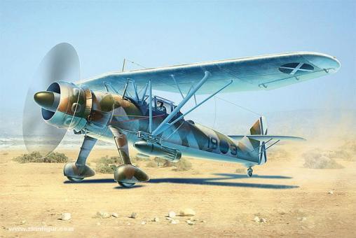 "Hs 126A-1 with Bomb Rack ""Legion Condor"""