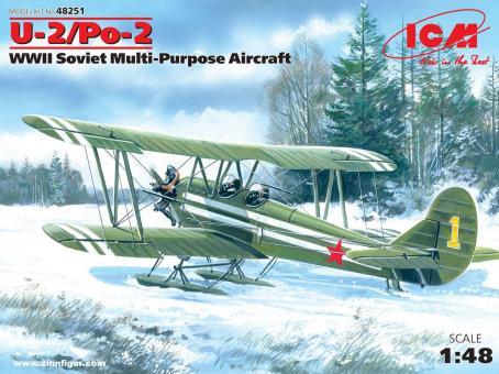Polikarpov U-2/Po-2 Doppeldecker