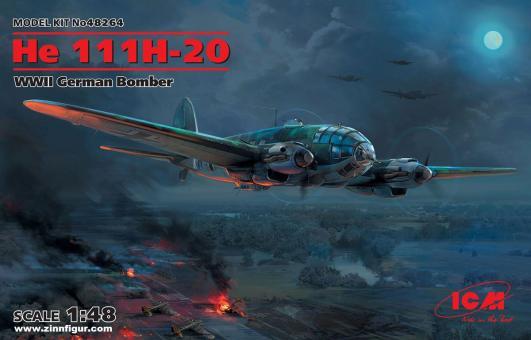 He 111H-20 Bomber