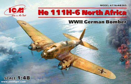 "He 111H-6 Bomber ""Nordafrika"""