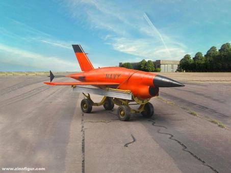 Q-2C (AQM-34A) Firebee Drone mit Anhänger