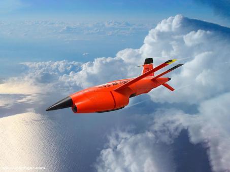 Q-2C (BQM-34A) Firebee Dronen mit Pylonen