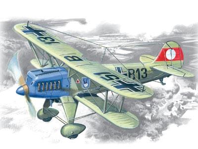 Heinkel He 51A-1 Doppeldecker